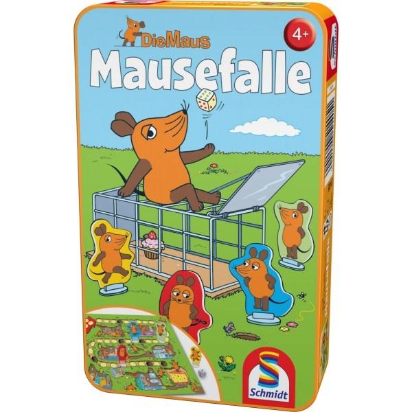 Mitbringspiel Die Maus Mausefalle von Schmidt Spiele