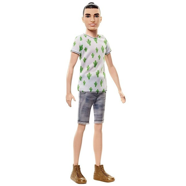 Barbie Fashionistas 16 Ken im Kaktus-Look