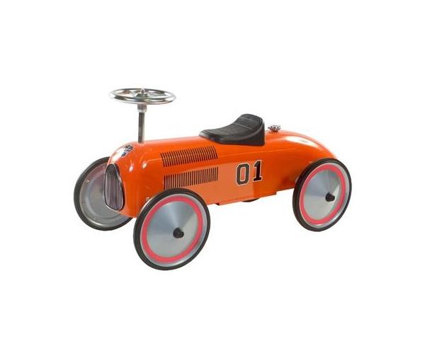 Retro Roller Charley Push Car