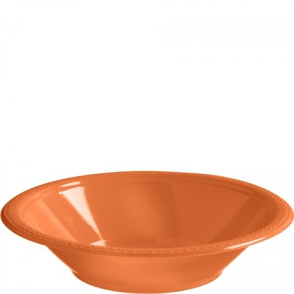 Parytschüsseln Kunststoff 10 Stück orange
