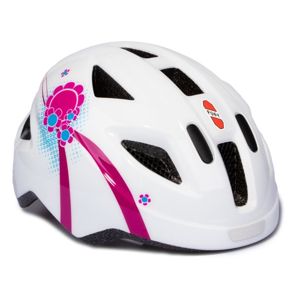 Puky Fahrradhelm PH 8-S weiss pink