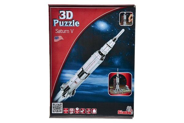 3D-Puzzle Rakete Saturn V