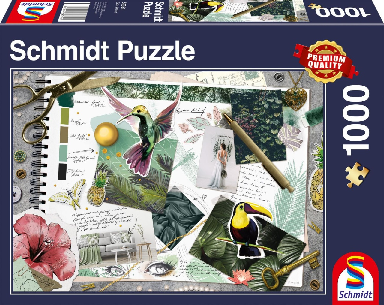 Schmidt Spiele Puzzle Moodboard 1000 Teile