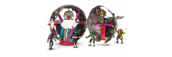 Ninja Turtles Movie II Technodrome Spielset