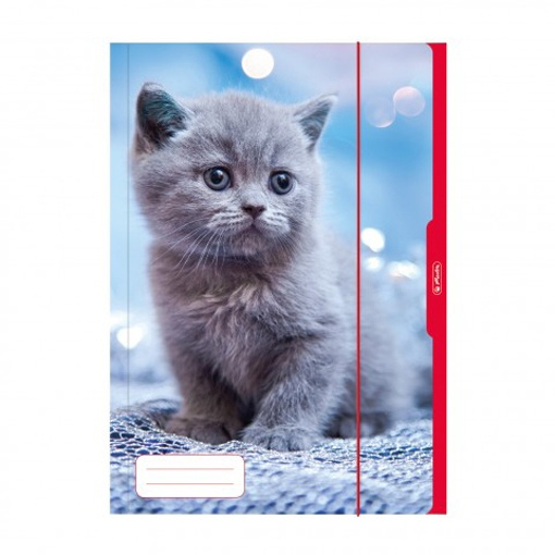 Herlitz Sammelmappe A3 Katze