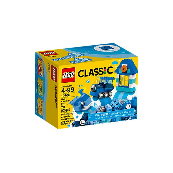 Lego Classic 10706 Kreativ-Box Blau