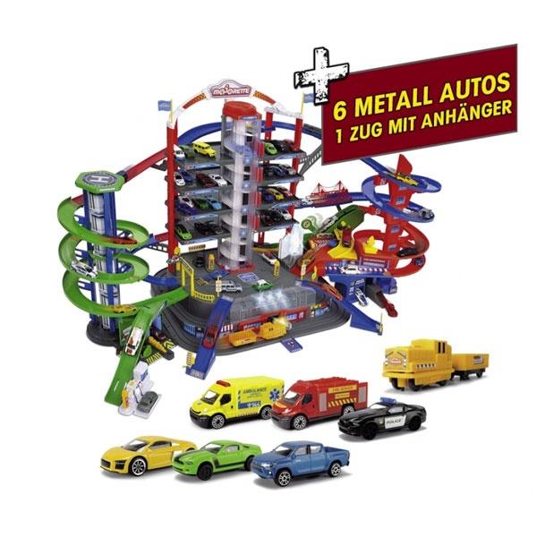 Majorette Super City Garage Parkgarage Parkhaus