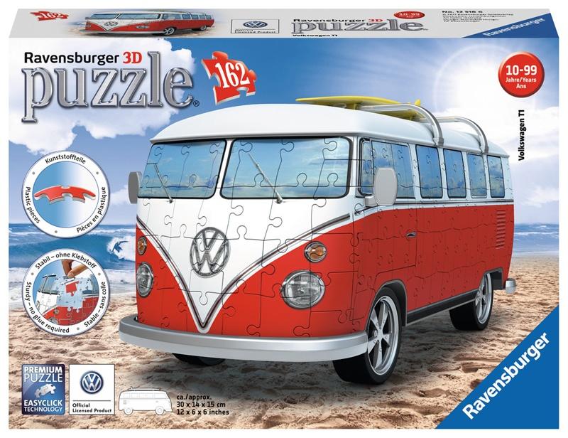 Ravensburger 3D Puzzle Volkswagen T1-Surfer Edition