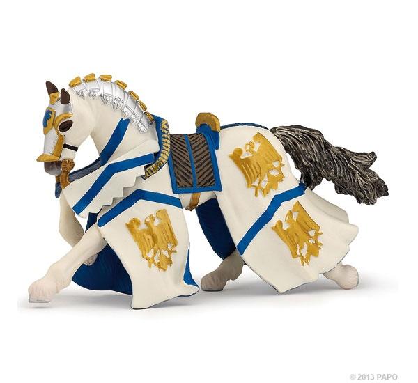 Papo 39336 Pferd des Ritter Wilhelm