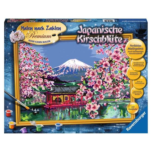 Malen nach Zahlen Japanische Kirschblüte