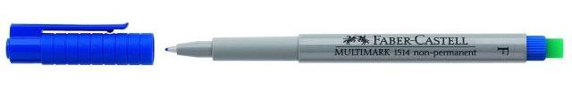Faber Castell Marker Multimark 1514 non-permanent F blau
