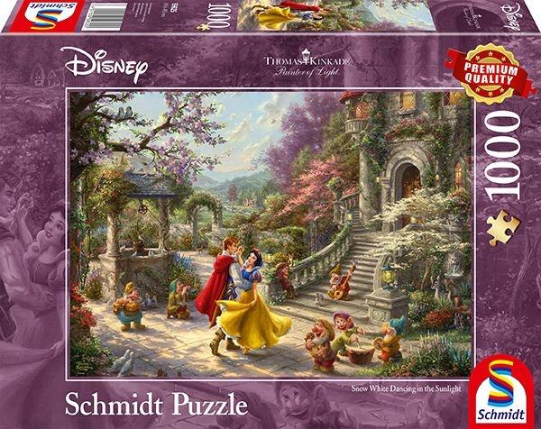 Schmidt Spiele Puzzle Disney Schneewittchen 1000 Teile