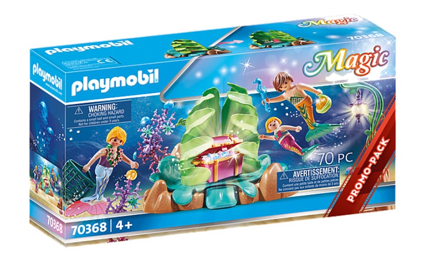 Playmobil 70368 Magic Korallen-Lounge der Meerjungfrauen