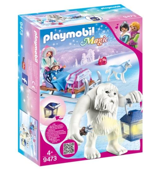 Playmobil 9473 Schneetroll mit Schlitten