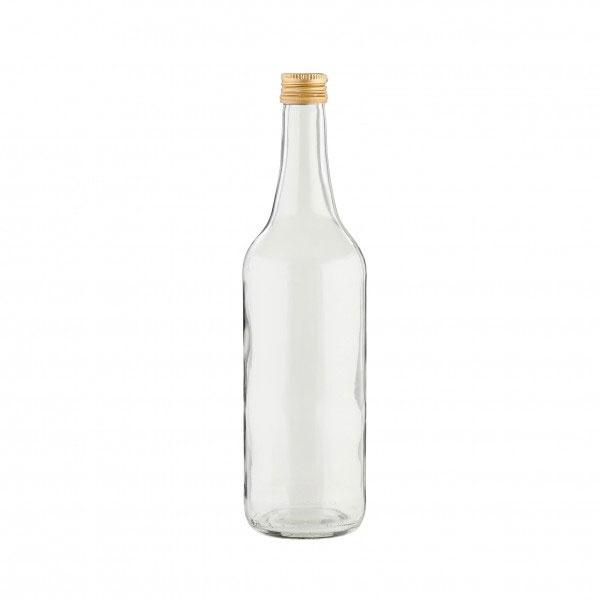 Glasflasche m. Schraubverschluss 700 ml