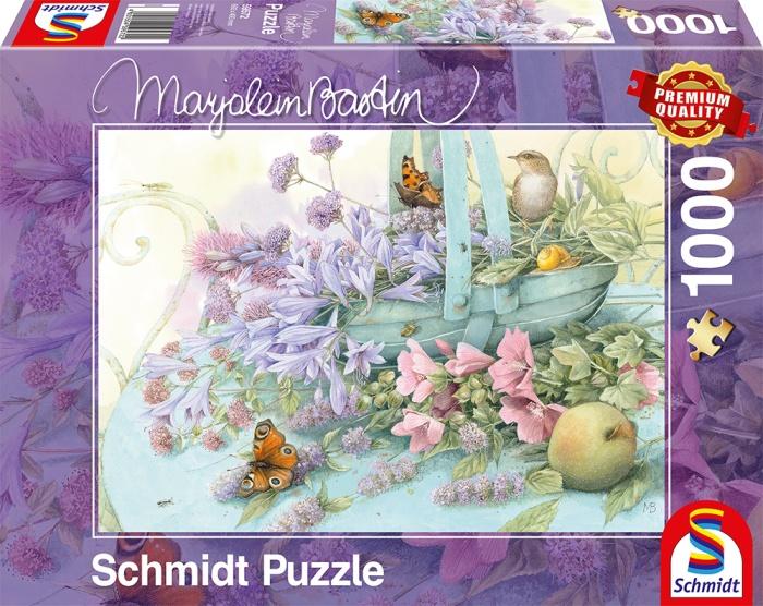 Schmidt Spiele Puzzle Marjolein Bastin Blumenkorb 1000 Teile