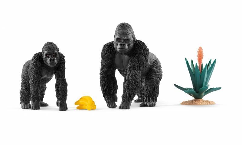 Schleich Wild Life Gorillas auf Futtersuche 42382