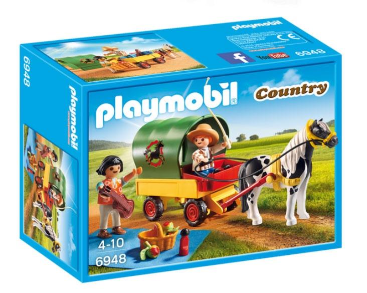 Playmobil 6948 Country Ausflug mit Ponywagen