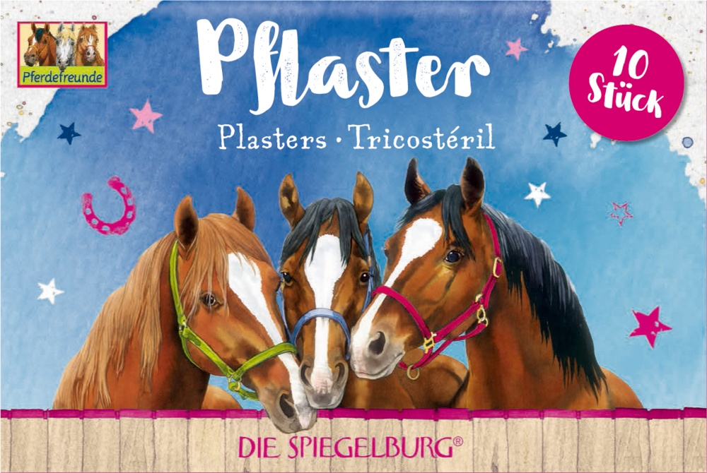 Spiegelburg Pferdefreunde Plasterstrips 10 Stück