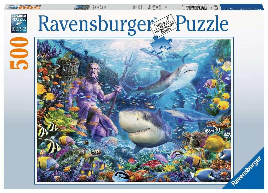 Ravensburger Puzzle Herrscher der Meere 500 Teile