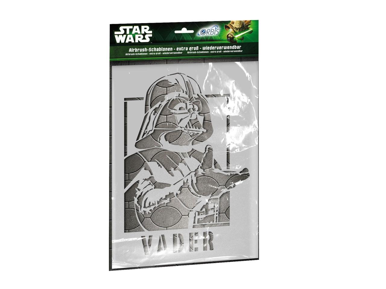 Orbis Schablone Star Wars Darth Vader