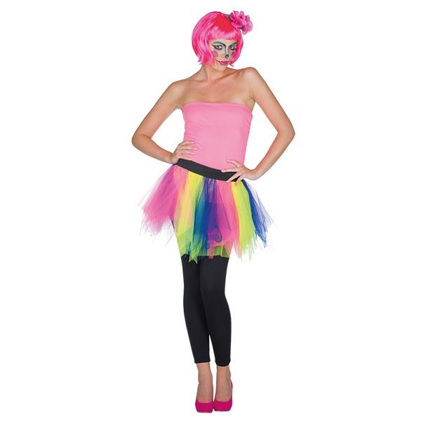 6fc3408efe4537 Kostüm Zubehör Tüllrock bunt f. Erwachsene - OsTow Onlineshop
