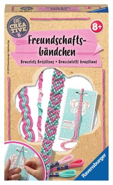 Ravensburger Bastelset Be Creative Freundschaftsbänder
