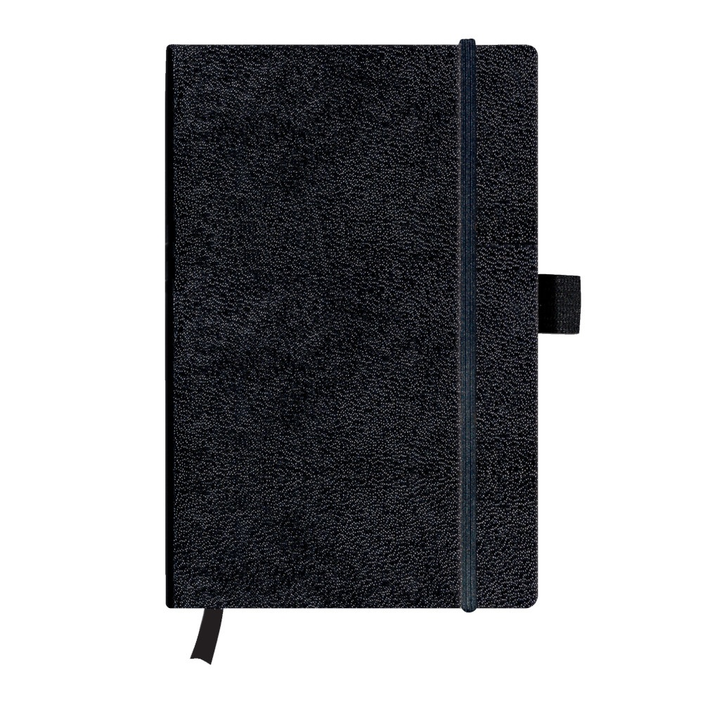 Herlitz Notizbuch A5 Classic Collection kar schwarz