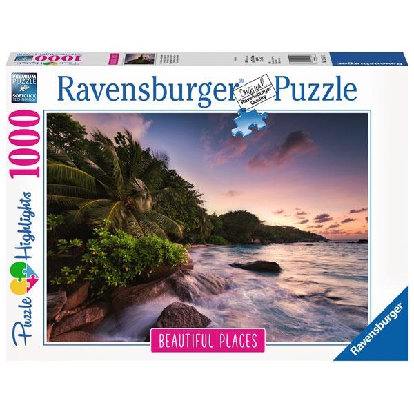 Puzzle Insel Praslin auf den Seychellen 1000 Teile