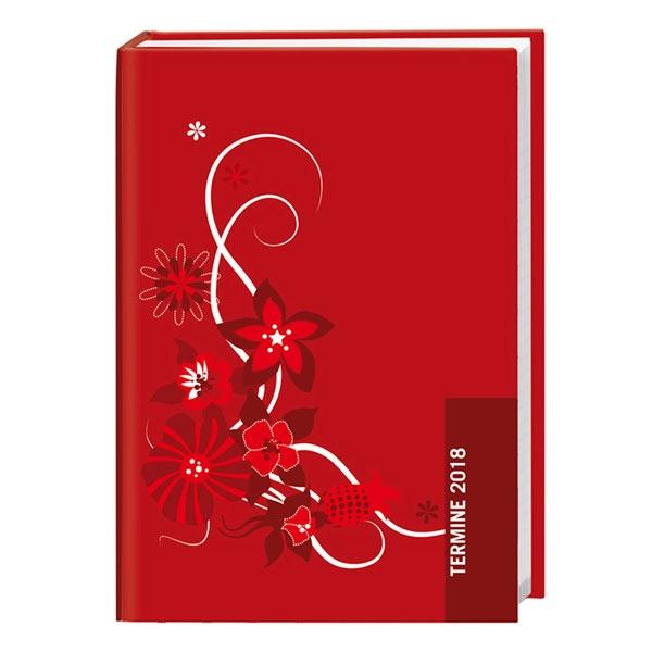 Taschenkalender Rot Ranke 2018 von Heye
