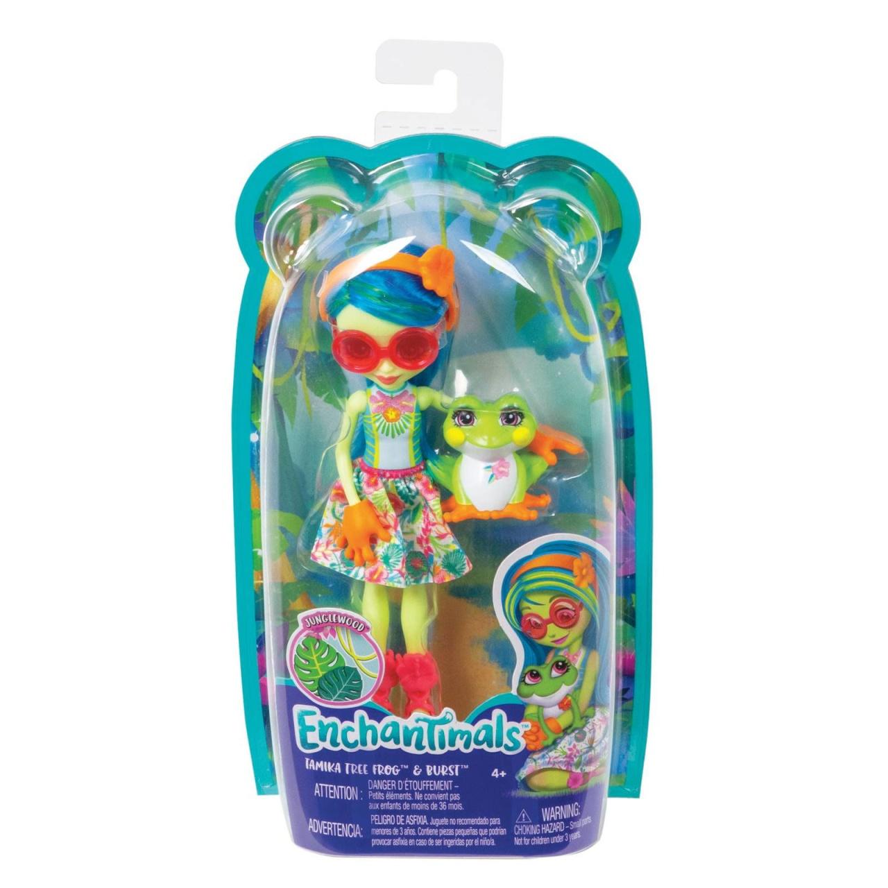 EnchenTimals Puppe Tamika Tree Frog & Burst