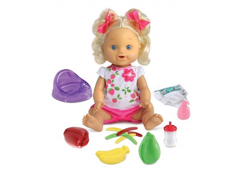 vtech Little Love Puppe Lina mit Töpfchen