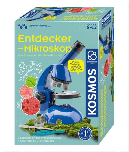 Kosmos Experimentierkasten Entdecker - Microskop 8-12J