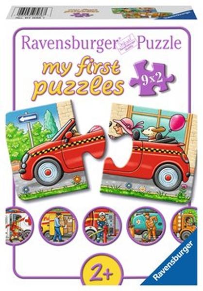 Ravensburger Puzzle Allerlei Fahrzeuge