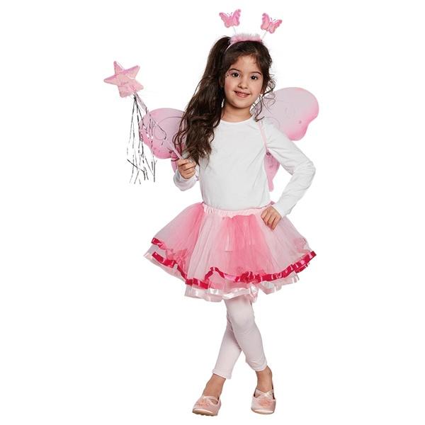 Kostüm-Zubehör Flügel Set LED Kinder 3tlg.