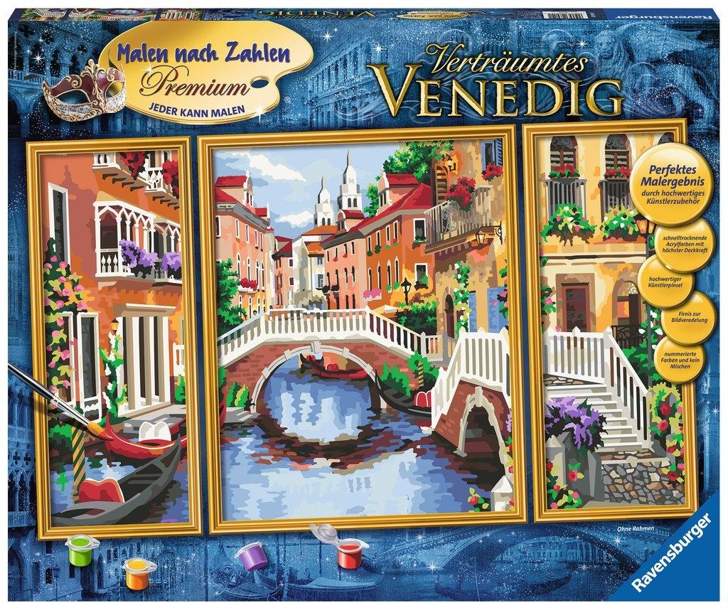 Ravensburger Malen nach Zahlen Verträumtes Venedig