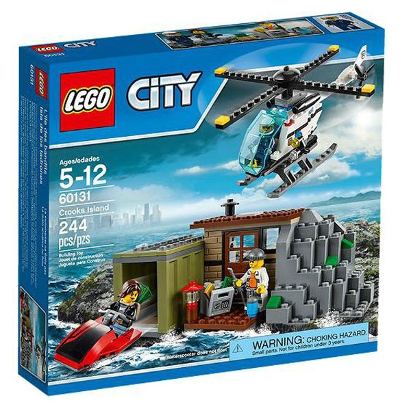 Lego City 60131 Gaunerinsel