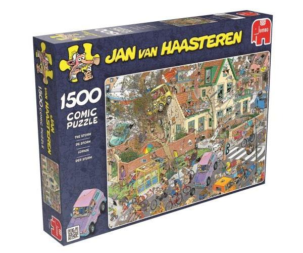 Puzzle Jan van Haasteren Der Sturm 1500 Teile