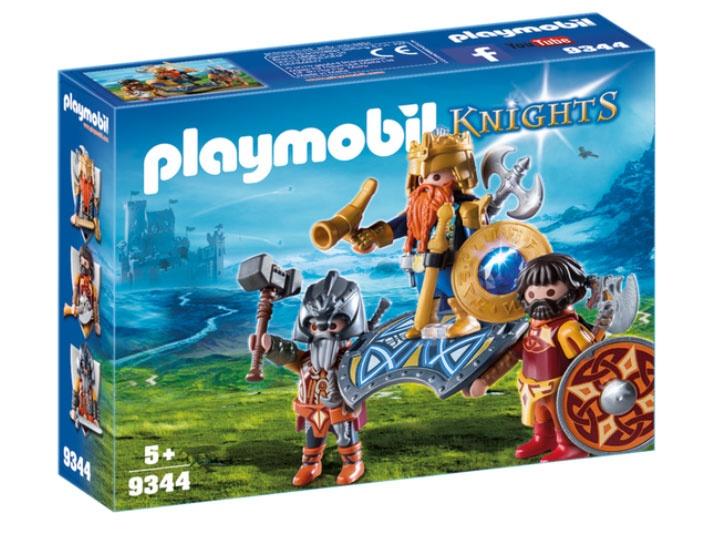 Playmobil 9344 Knights Zwergenkönig