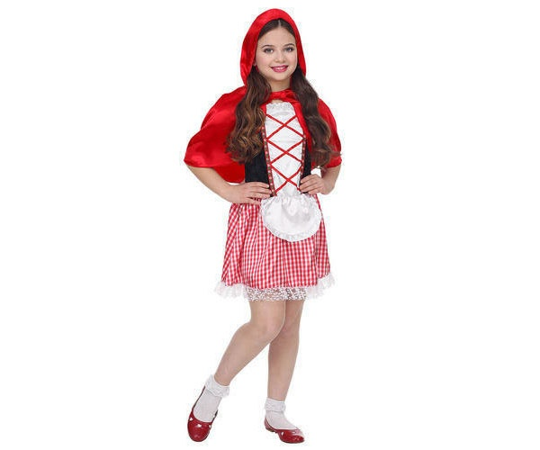 Kostüm Rotkäppchen Gr. 140