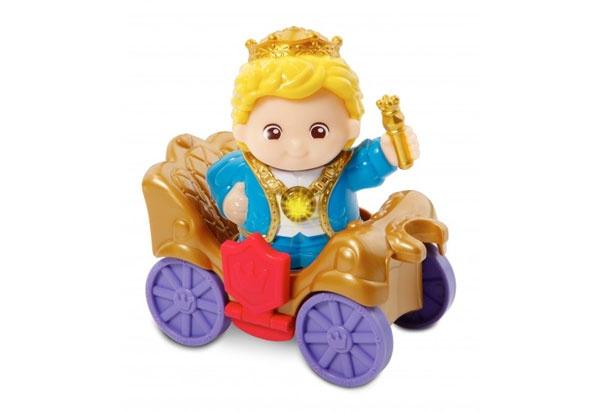 vtech Kleine Entdeckerbande - König Robert mit Wagen