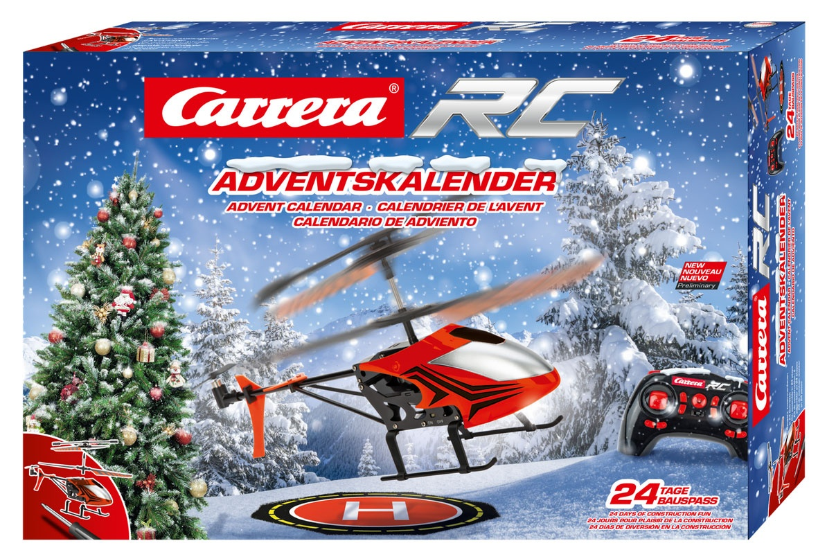 Adventskalender Carrera RC Helicopter 2,4 GHz