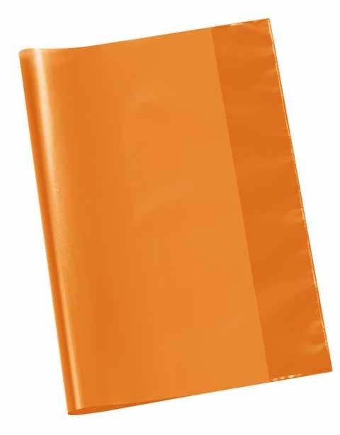 Hefthülle A4 transparent orange