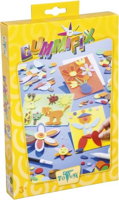 Totum Bastelset Gummifix Karten dekorieren