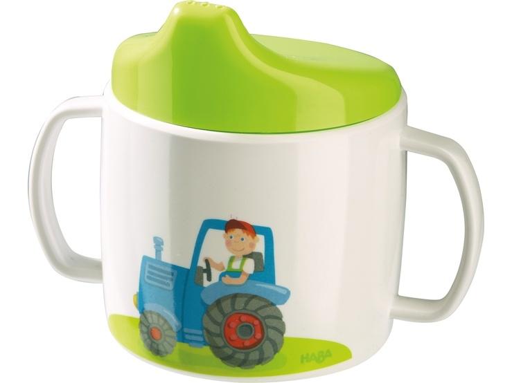 Haba Trinklerntasse Traktor