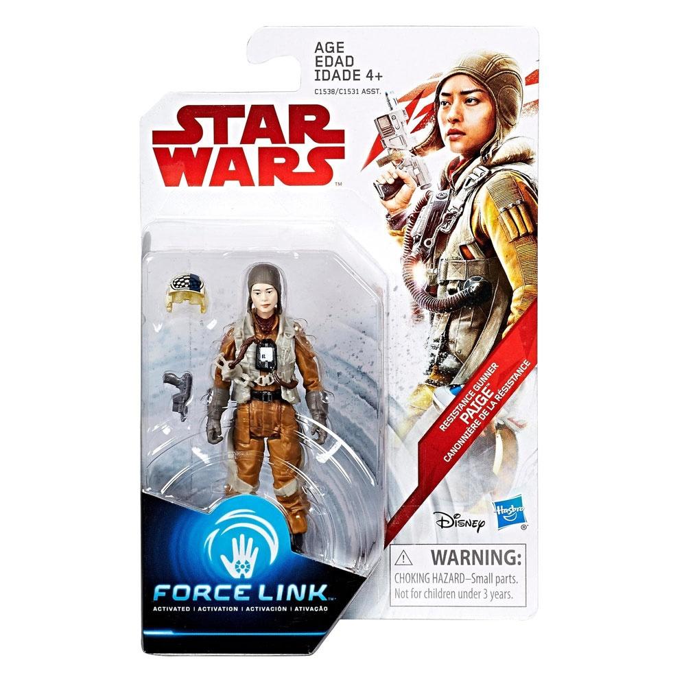 Star Wars Episode 8 Force Link Resistance Gunner Paige