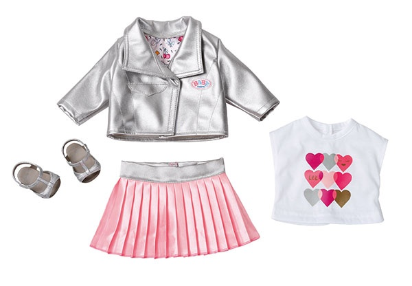 Zapf Creation Baby Born City Deluxe Trendsetter Kleidung