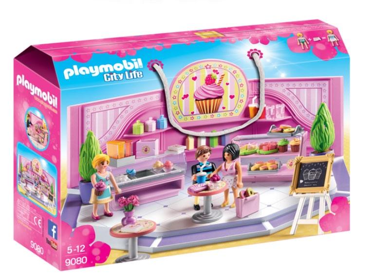 Playmobil 9080 City Life Café Cupcake