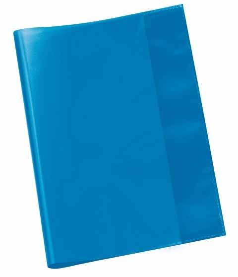 Hefthülle A5 blau transparent