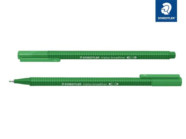 Broadliner triplus grün 0.8 mm
